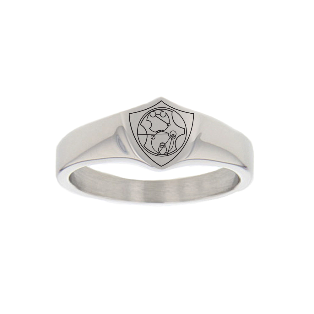 Gallifreyan CTR Ring - Regular gallifreyan ring, gallifreyan ctr ring, dr. who ring, dr. who
