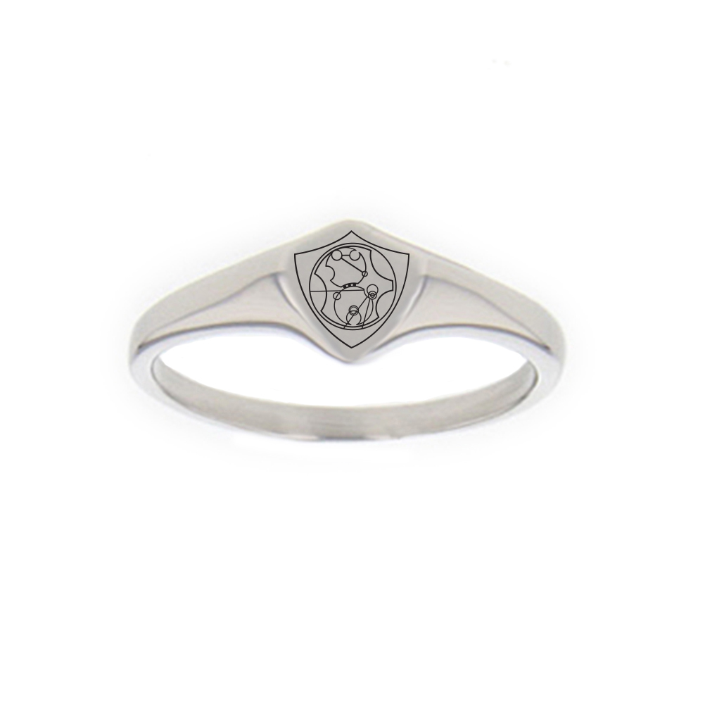 Gallifreyan CTR Ring - Mini gallifreyan ring, gallifreyan ctr ring, dr. who ring, dr. who