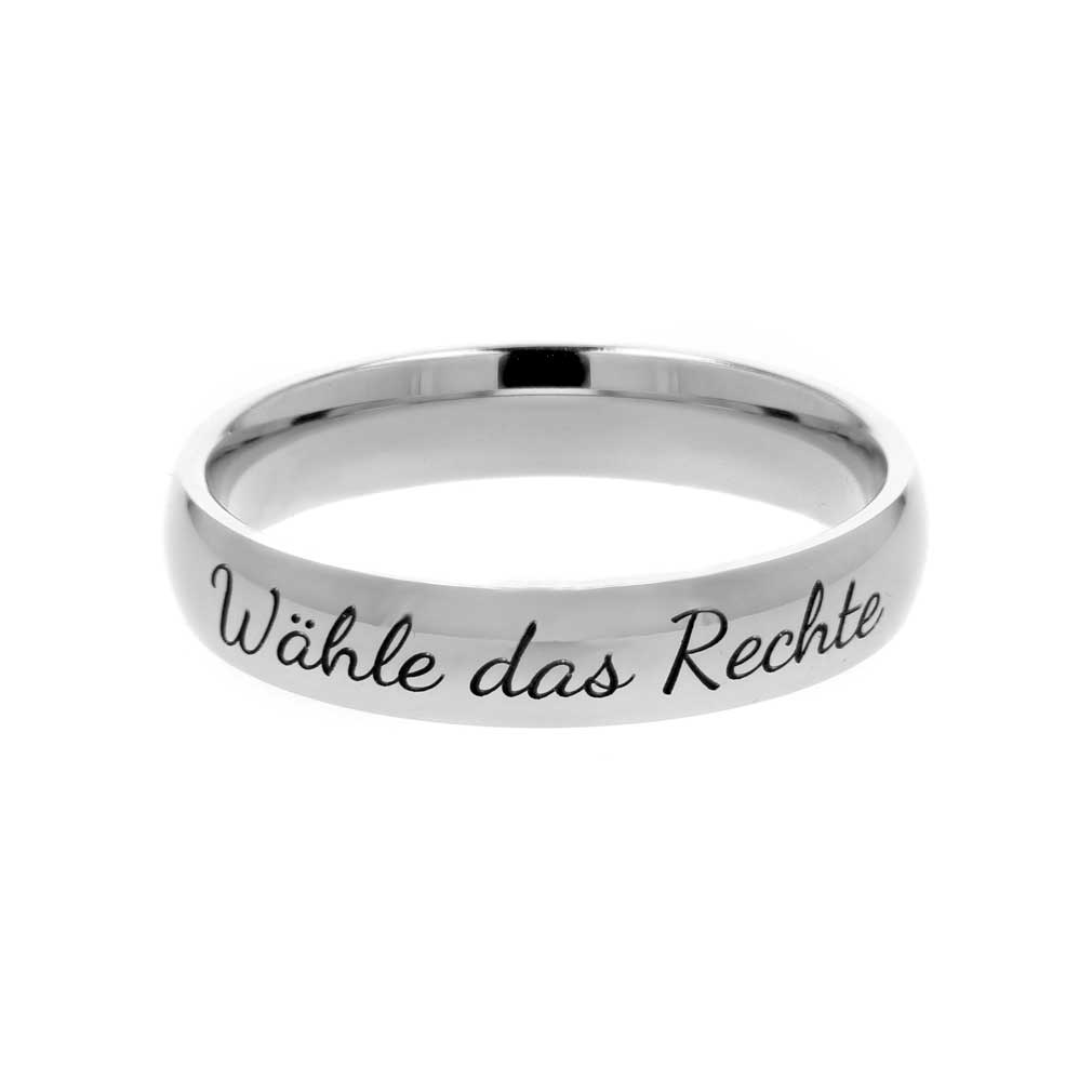 German Choose the Right Ring - Narrow - LDP-RNGC15124