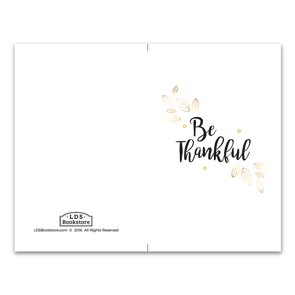 Gold Thankful Program Cover Printable In Program Covers