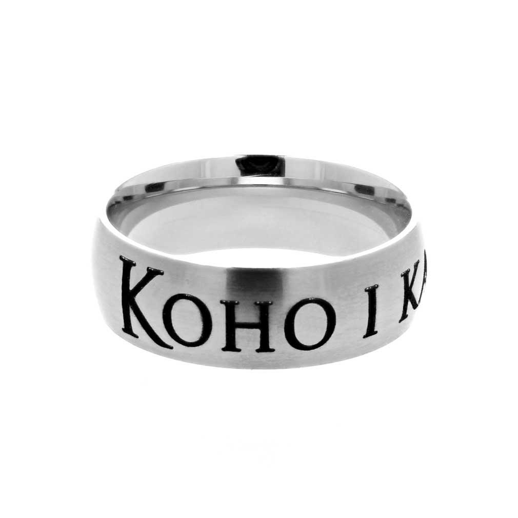Hawaiian Choose the Right Ring - Wide - LDP-RNGB15222