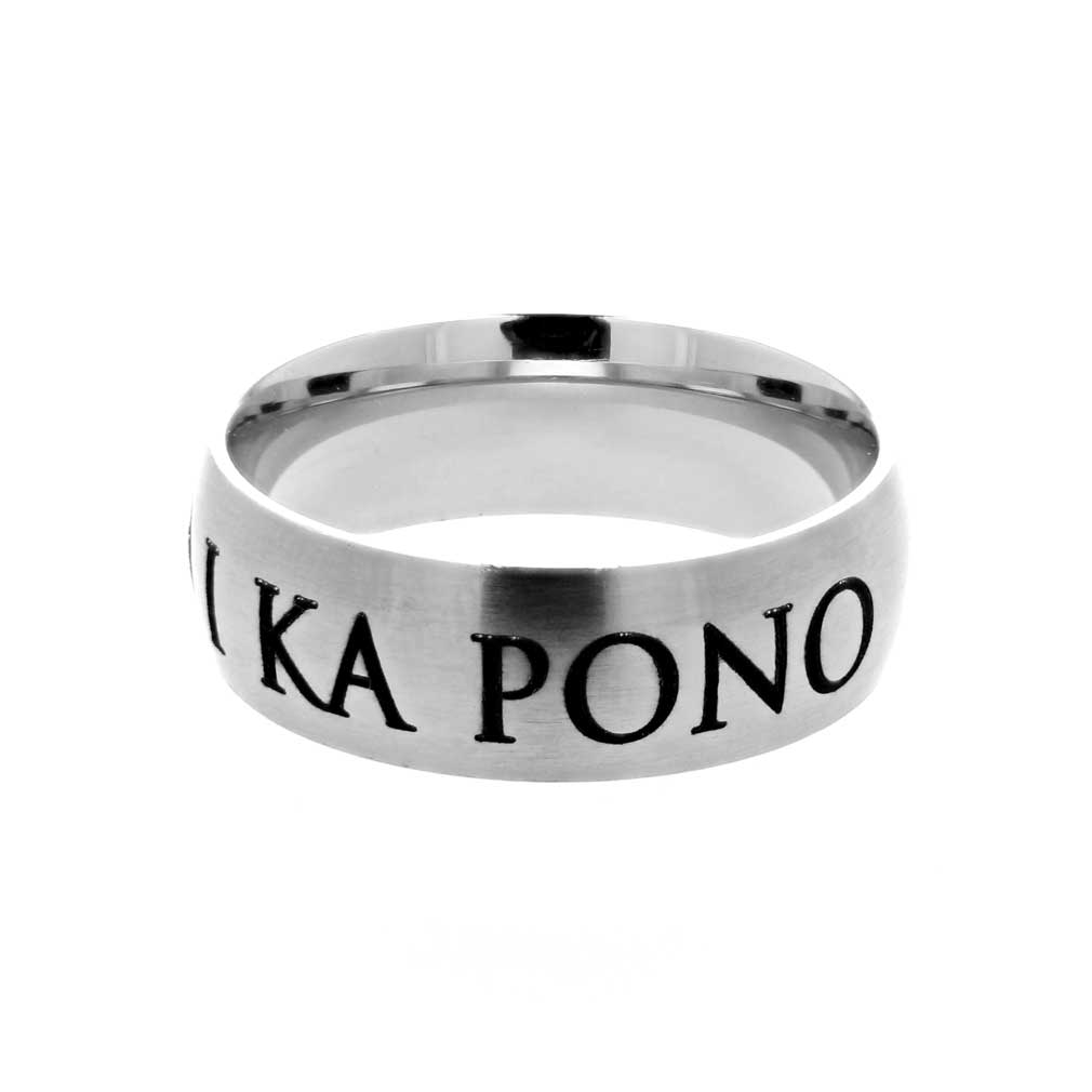 Hawaiian Choose the Right Ring - Wide - LDP-RNGB15222