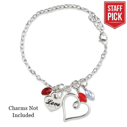 Mother's Heart Charm Bracelet - X-RM-JRY279