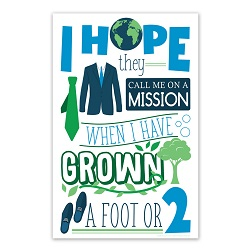I Hope They Call Me On a Mission Poster (Elders) - Printable i hope they call me on a mission poster, i hope they call me on a mission, lds primary poster, lds primary gifts, lds primary decor