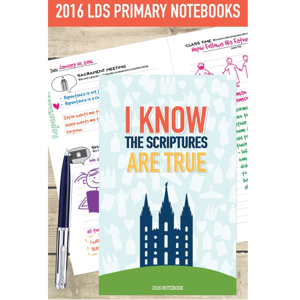 I Know the Scriptures are True - Primary Book - RHH-9781519521118