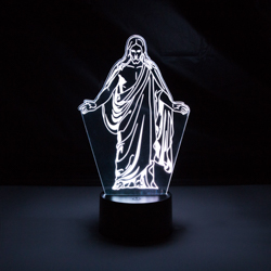 Christus LED Night Light christus temple cube, christus temple light, christus light, christus gift, christus desk light, lds desk light, lds night light