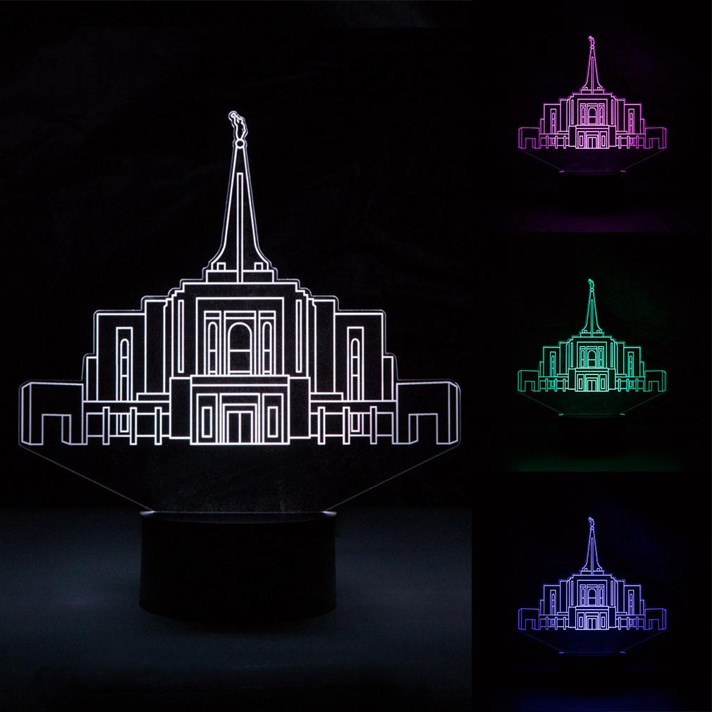 Gilbert Temple LED Night Light - LDP-IDL-GILB
