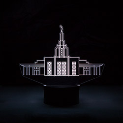 Idaho Falls Temple Illuminated Desk Light idaho falls temple, idaho falls temple decor, idaho falls temple light, lds idaho falls temple lds temple gifts, lds gifts, lds decor