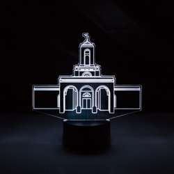 Newport Beach Temple LED Night Light newport beach temple illuminated desk light, newport beach temple, newport beach california temple, lds desk light, lds night light, lds gifts