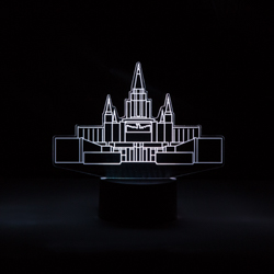 Oakland Temple Illuminated Desk Light