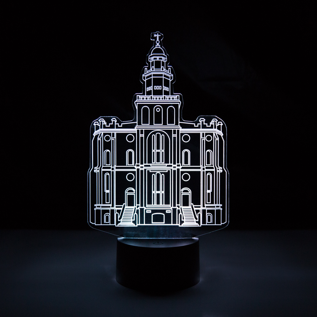 St. George Temple Illuminated Desk Light
