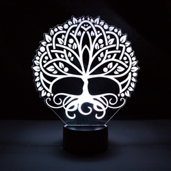 Tree of Life Illuminated Desk Light