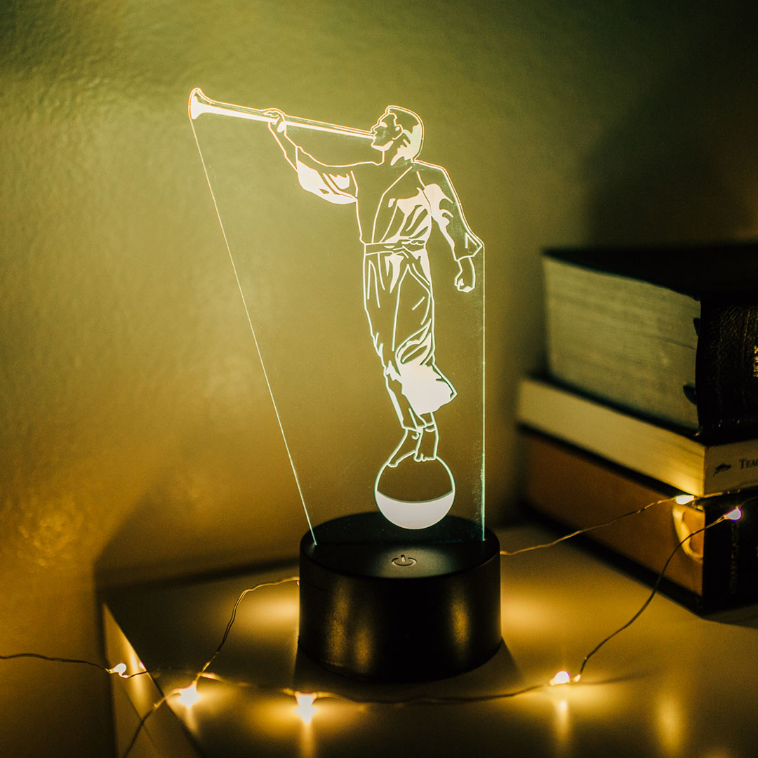 Angel Moroni Illuminated Desk Light - LDP-IDL-MORONI