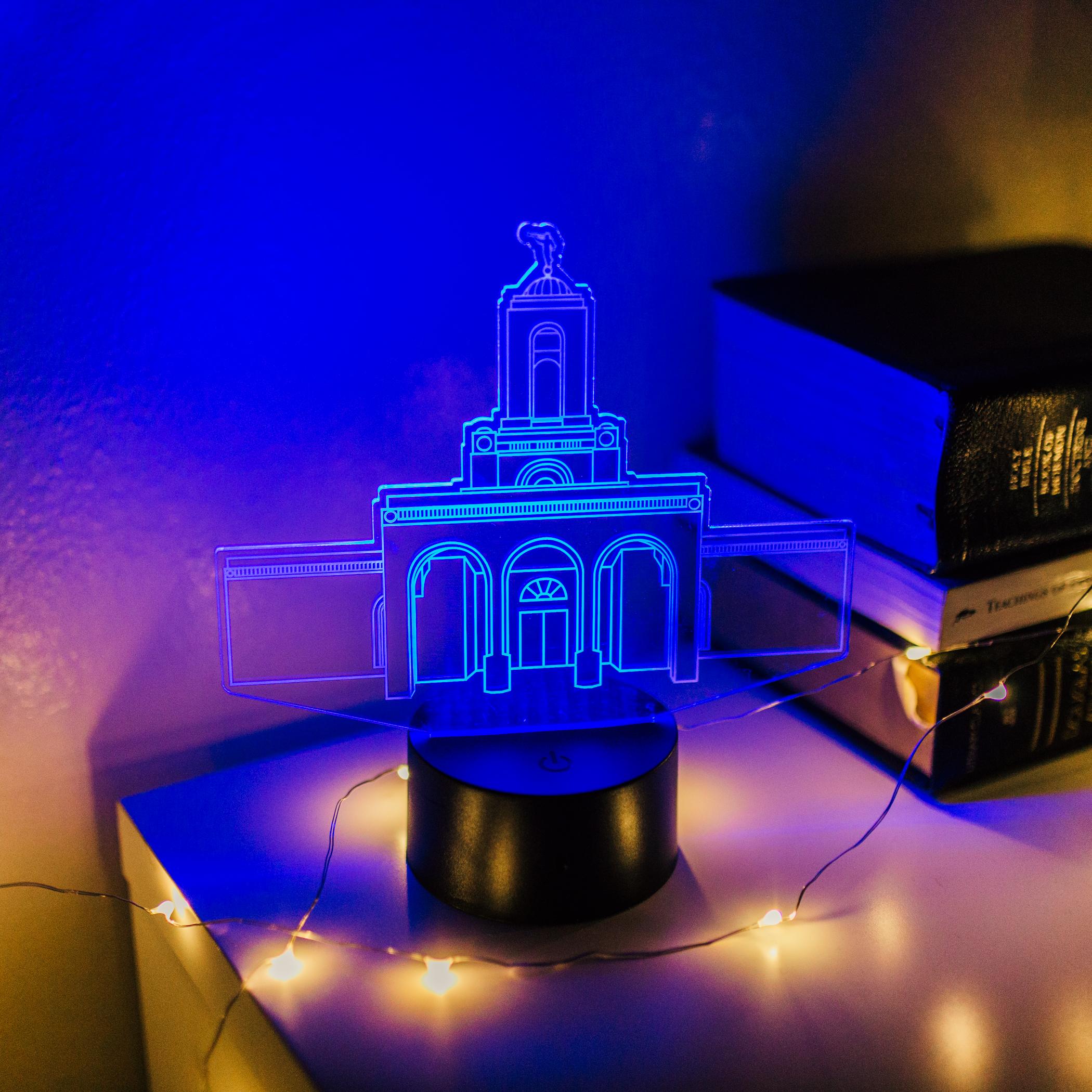 Newport Beach Temple LED Night Light - LDP-IDL-NWPB