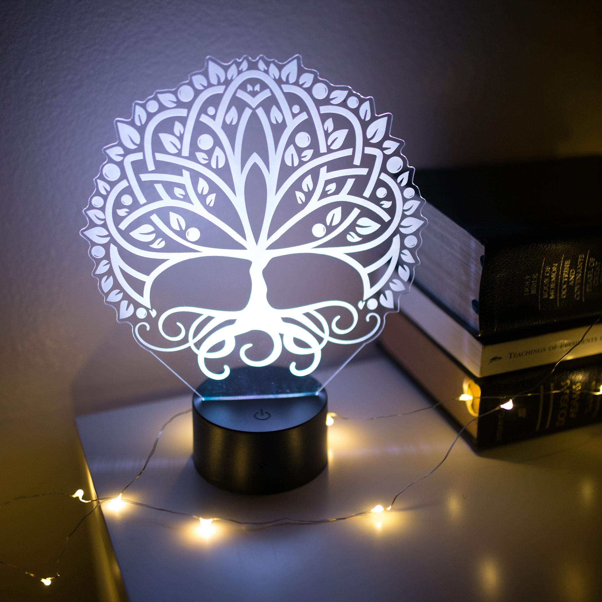 Tree of Life Illuminated Desk Light - LDP-IDL-TOL
