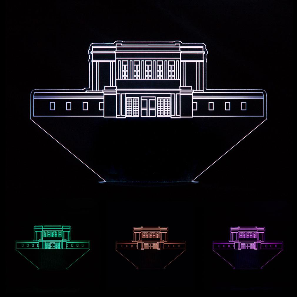 Mesa Temple Illuminated Desk Light - LDP-IDL-MESA