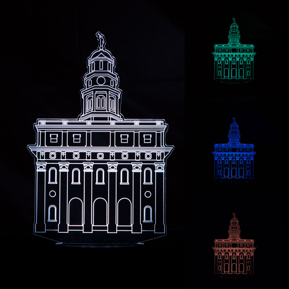 Nauvoo Temple Illuminated Desk Light - LDP-IDL-NAUVOO