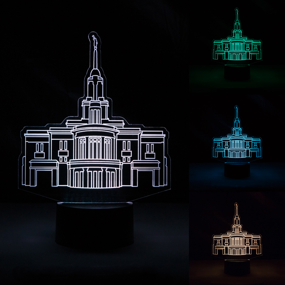 Payson Temple Illuminated Desk Light - LDP-IDL-PAYSON
