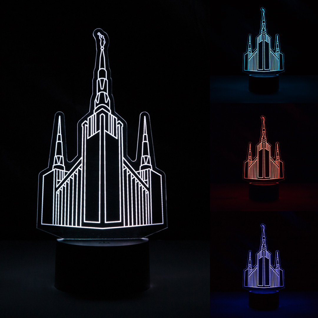 Portland Temple Illuminated Desk Light - LDP-IDL-PORT