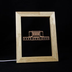 Mesa Temple Illuminated Picture Frame