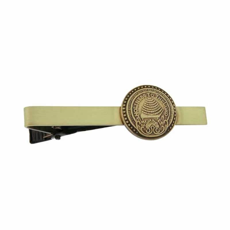 ae3f3cd6ed60 Salt Lake Temple Doorknob Tie Bar - Gold in Tie Bars | LDSBookstore.com  (#OMT-J5TB)