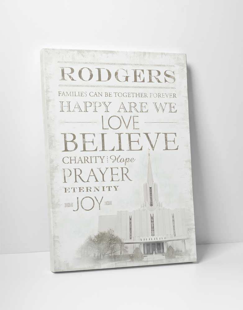 Jordan River Temple - Word Art - D-LWA-WAT-JORD