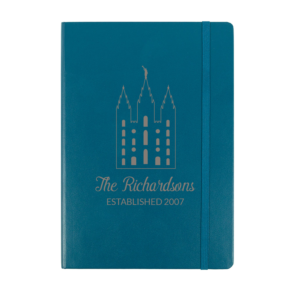Personalized Temple Journal - LDP-JRN-TEMPLE