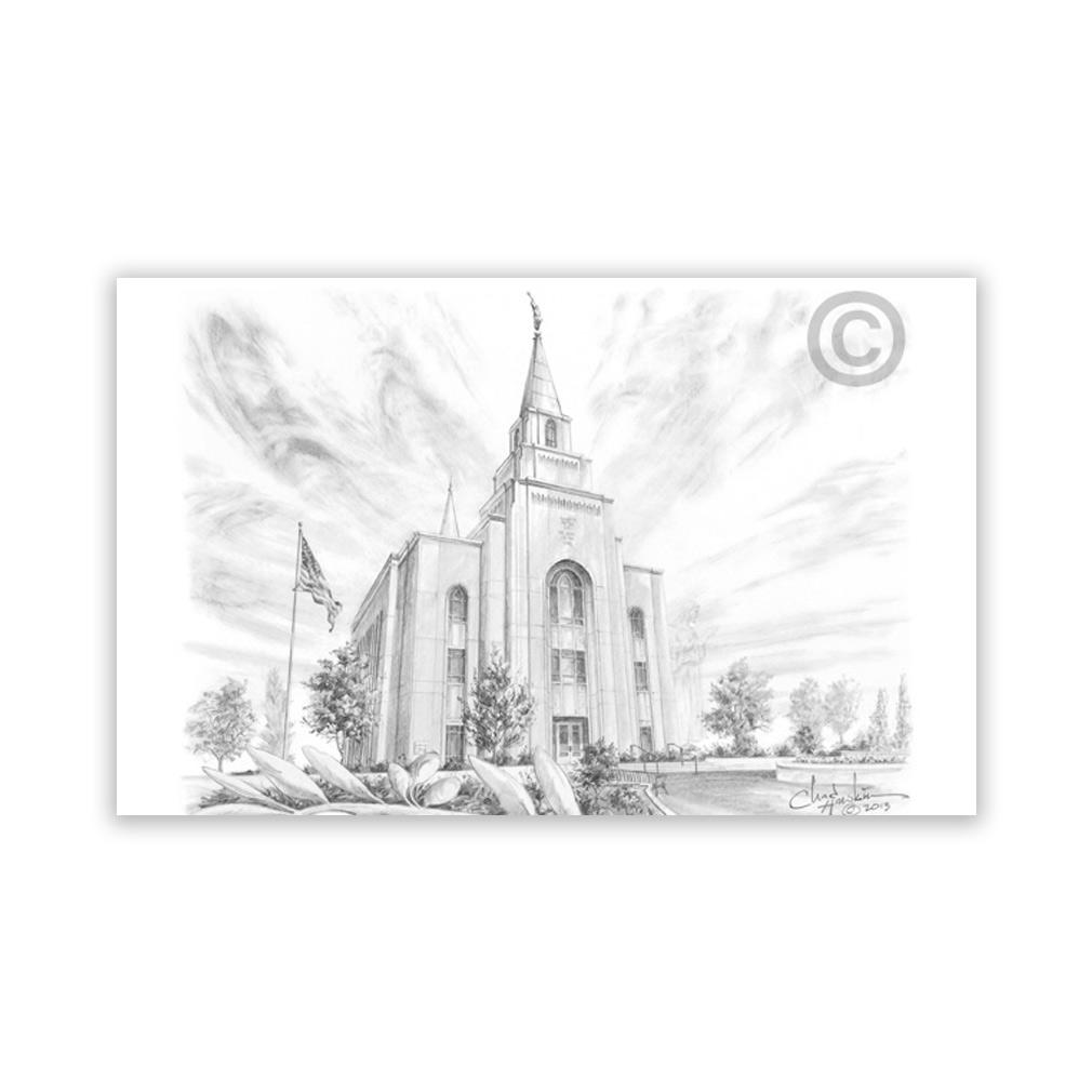 Kansas City Missouri Temple Recommend Holder - CH-RH210