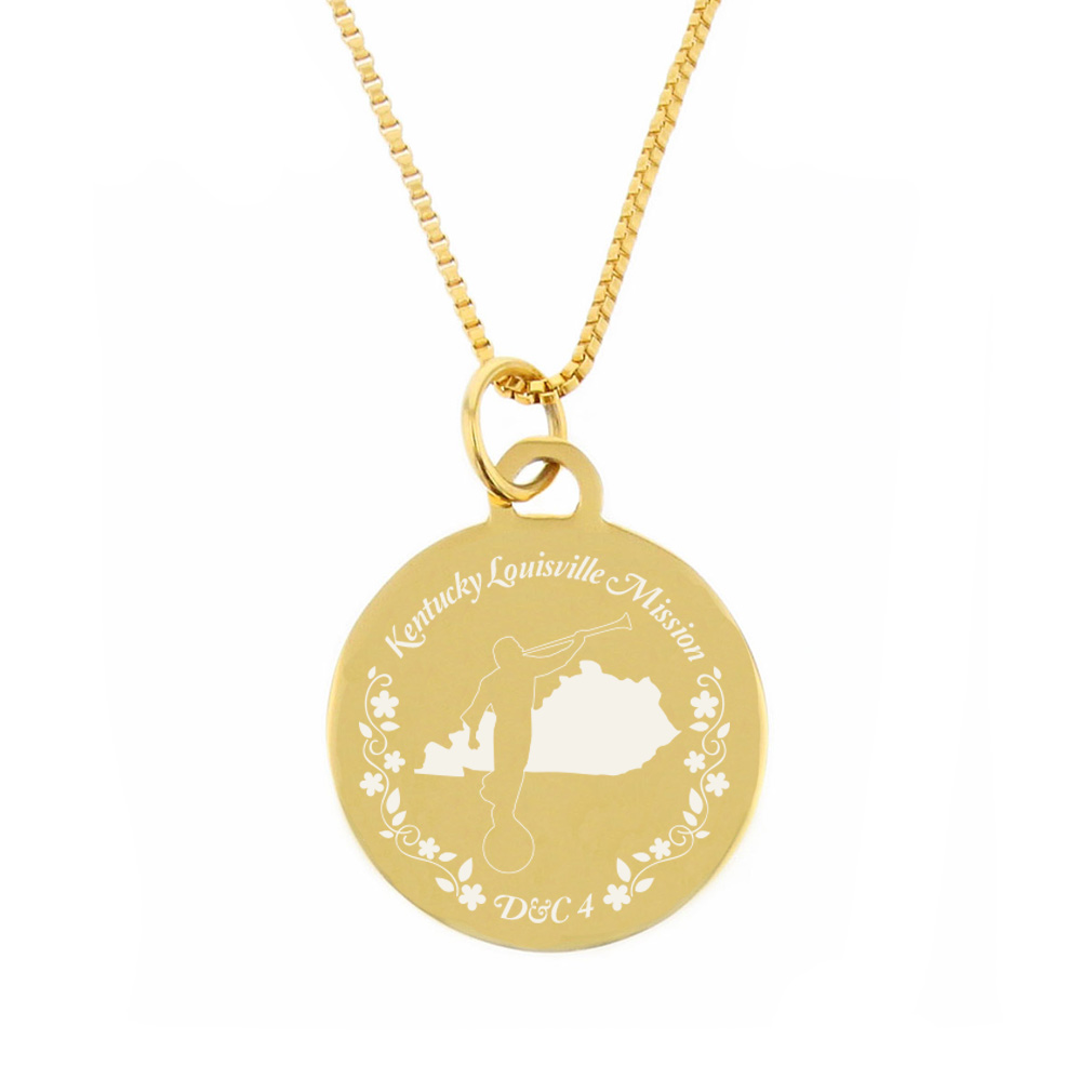 Kentucky Mission Necklace - Silver/Gold - LDP-CPN56