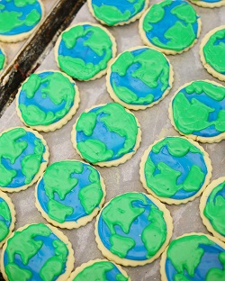Earth Sugar Cookie