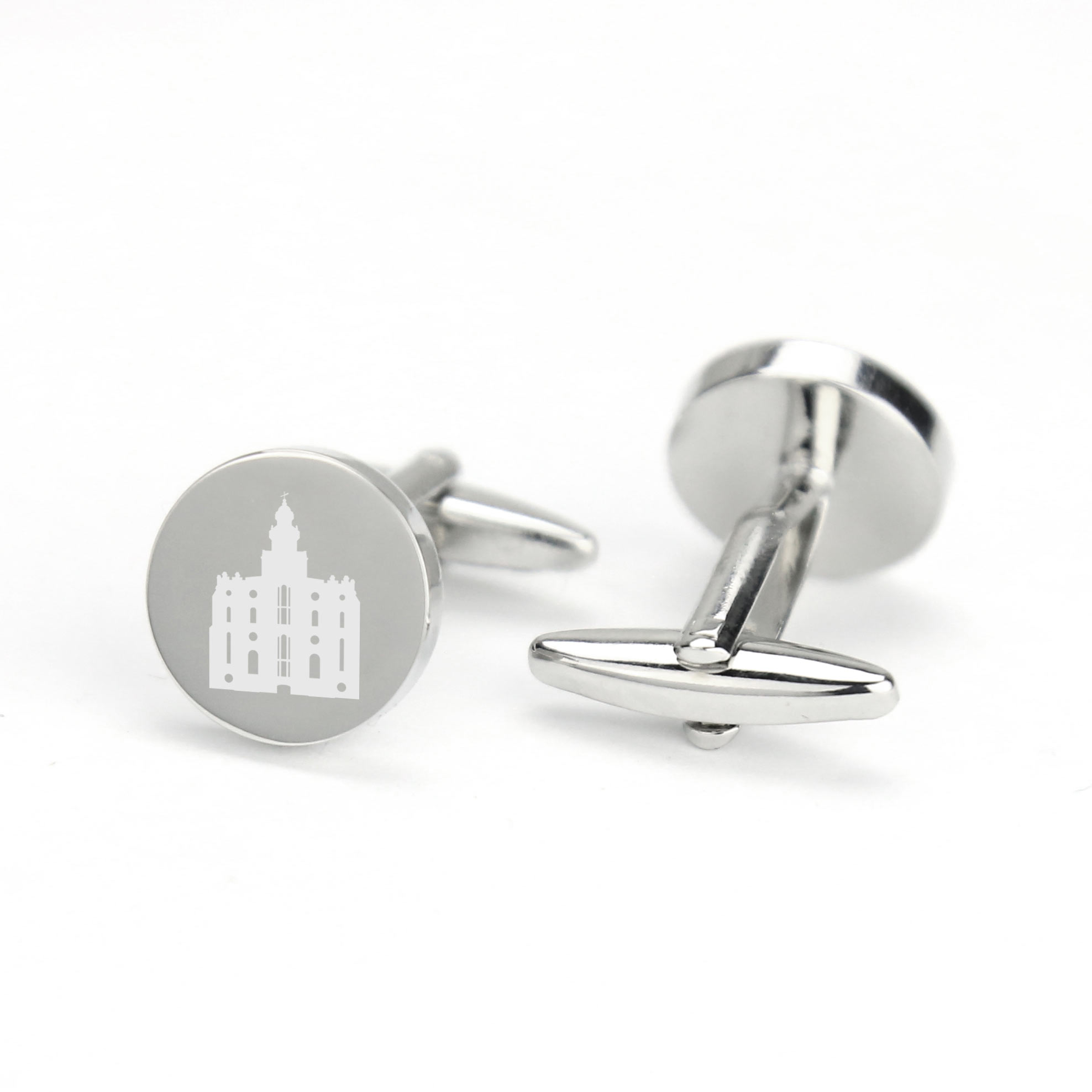 LDS Temple Cufflinks - LDP-CFL128