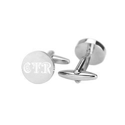 CTR Monogram Cufflinks ctr cufflinks, lds cufflinks