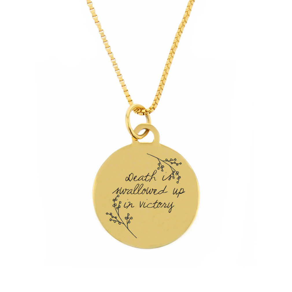 Swallowed Up in Victory Pendant Necklace - LDP-CPN113