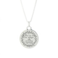 Everlasting Beginnings Pendant Necklace bereavement necklace, lds pendant necklace
