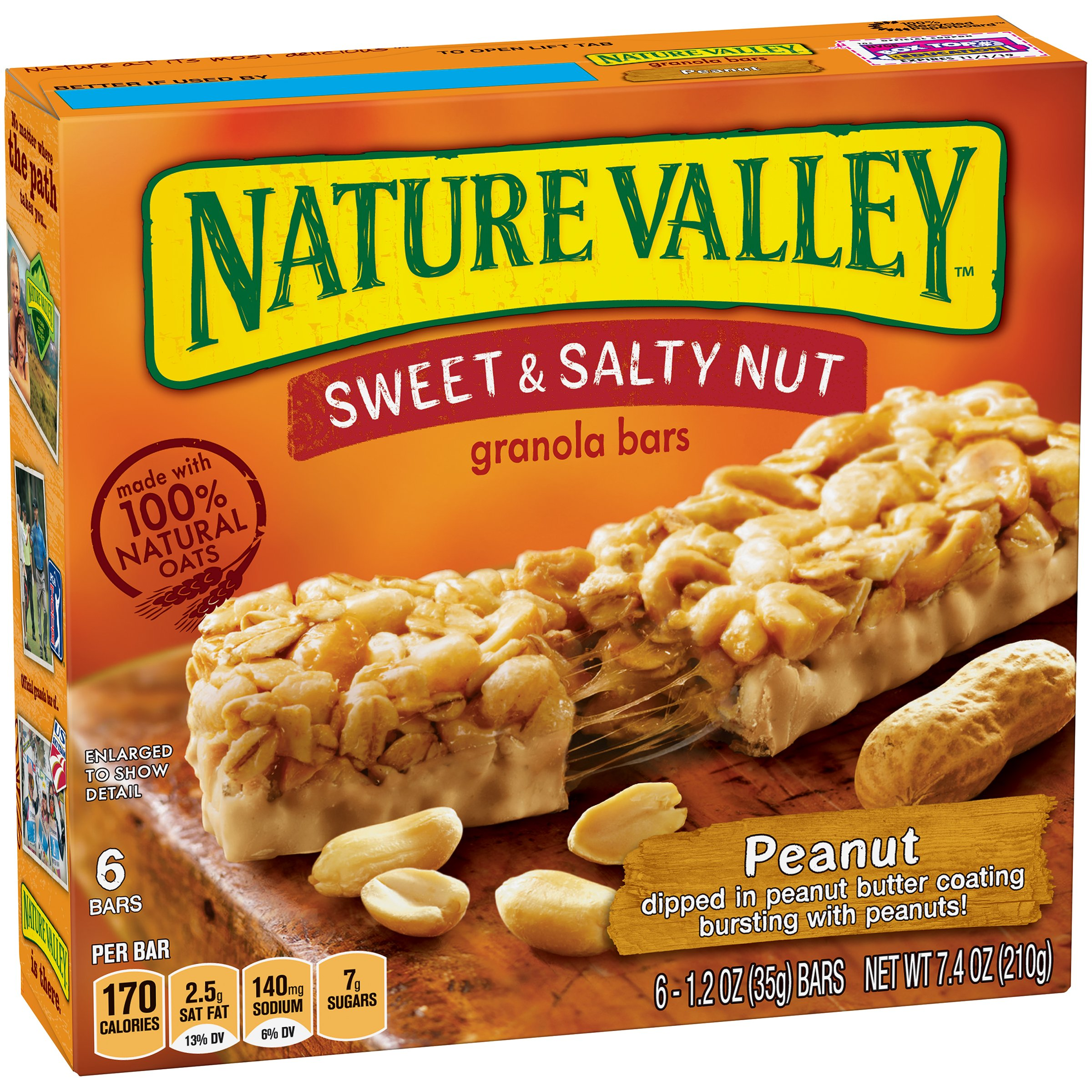 Nature Valley Sweet & Salty Granola Bars - 6/ Box