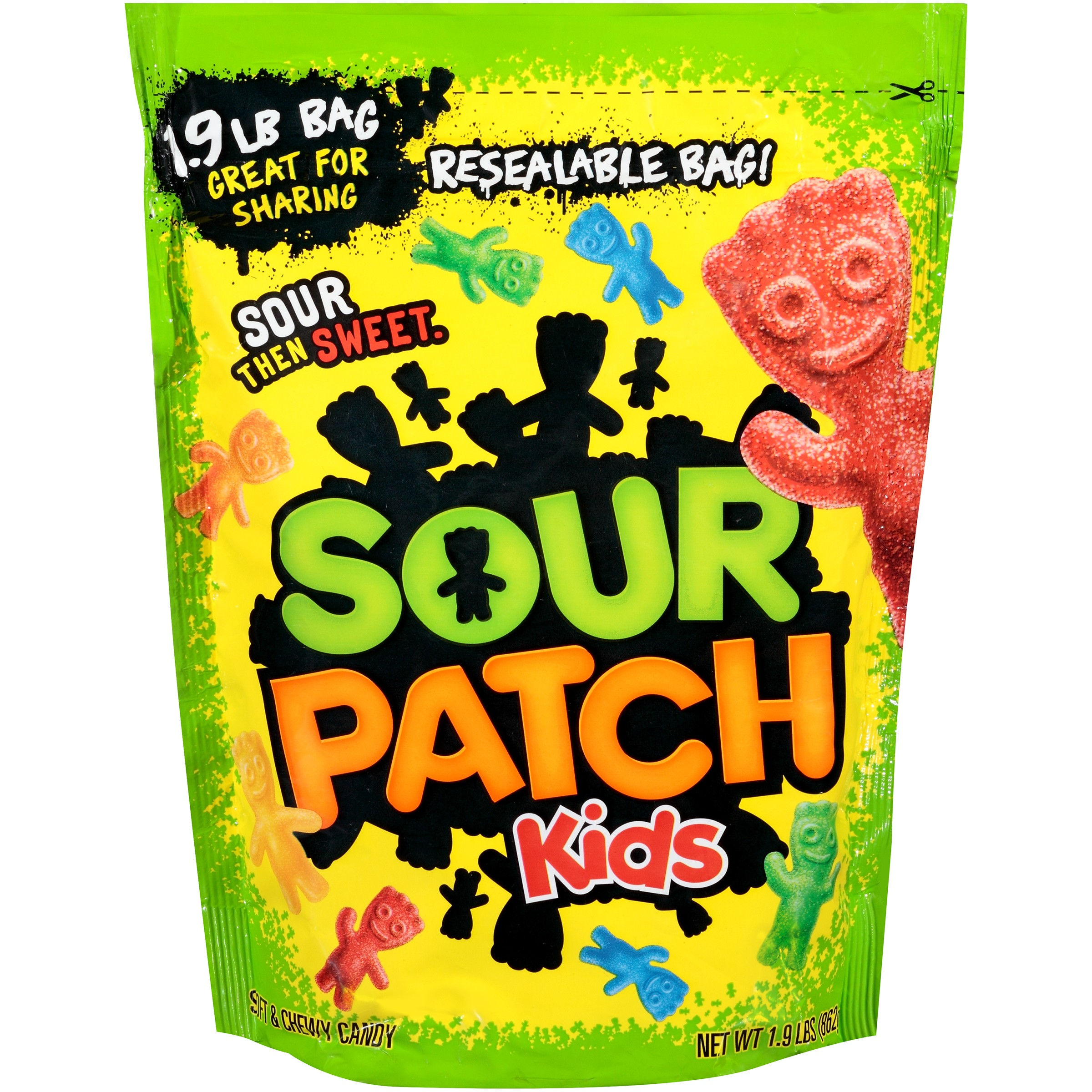 Home & Garden Loyal Sour Patch Kids ~ Sour Then Sweet Candy ~ Resealable Bag 1.9 Lbs Bag Candy, Gum & Chocolate