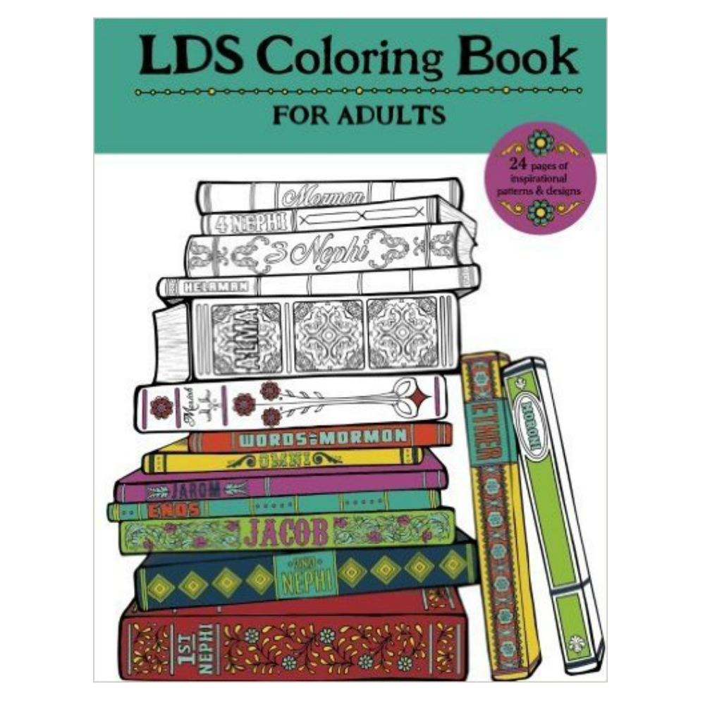 LDS Coloring Book for Adults in Inspirational | LDSBookstore.com ...