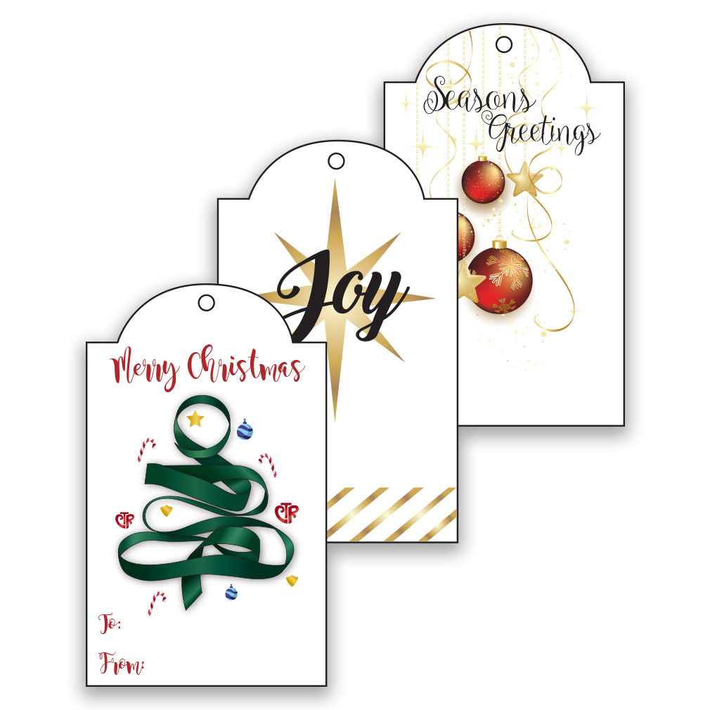 Printable LDS Christmas Gift Tags Gold In Free LDS