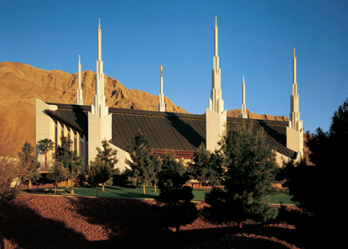 Las Vegas Nevada Temple During The Day Print In Lds Temple Prints On Ldsbookstore Com