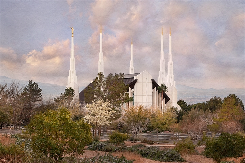 Las Vegas Temple - Holy Places