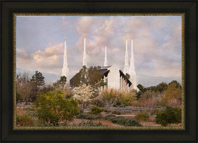 Las Vegas Temple - Holy Places - LDP-RB04303S