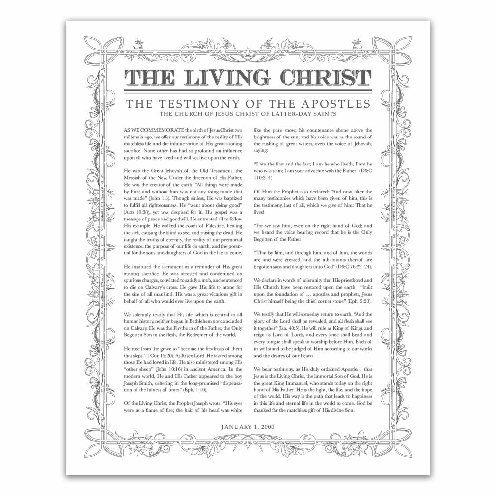 photo relating to The Living Christ Printable known as Leaf Determine Dwelling Christ - Charcoal - Printable