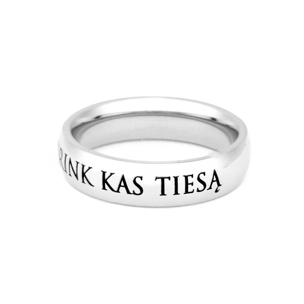 Lithuanian Choose the Right Ring - Narrow - LDP-RNGC15133