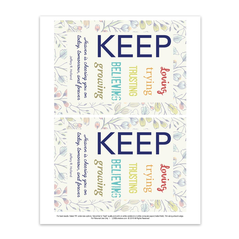 Keep Trying - Printable - LDPD-PBLMAYVT2