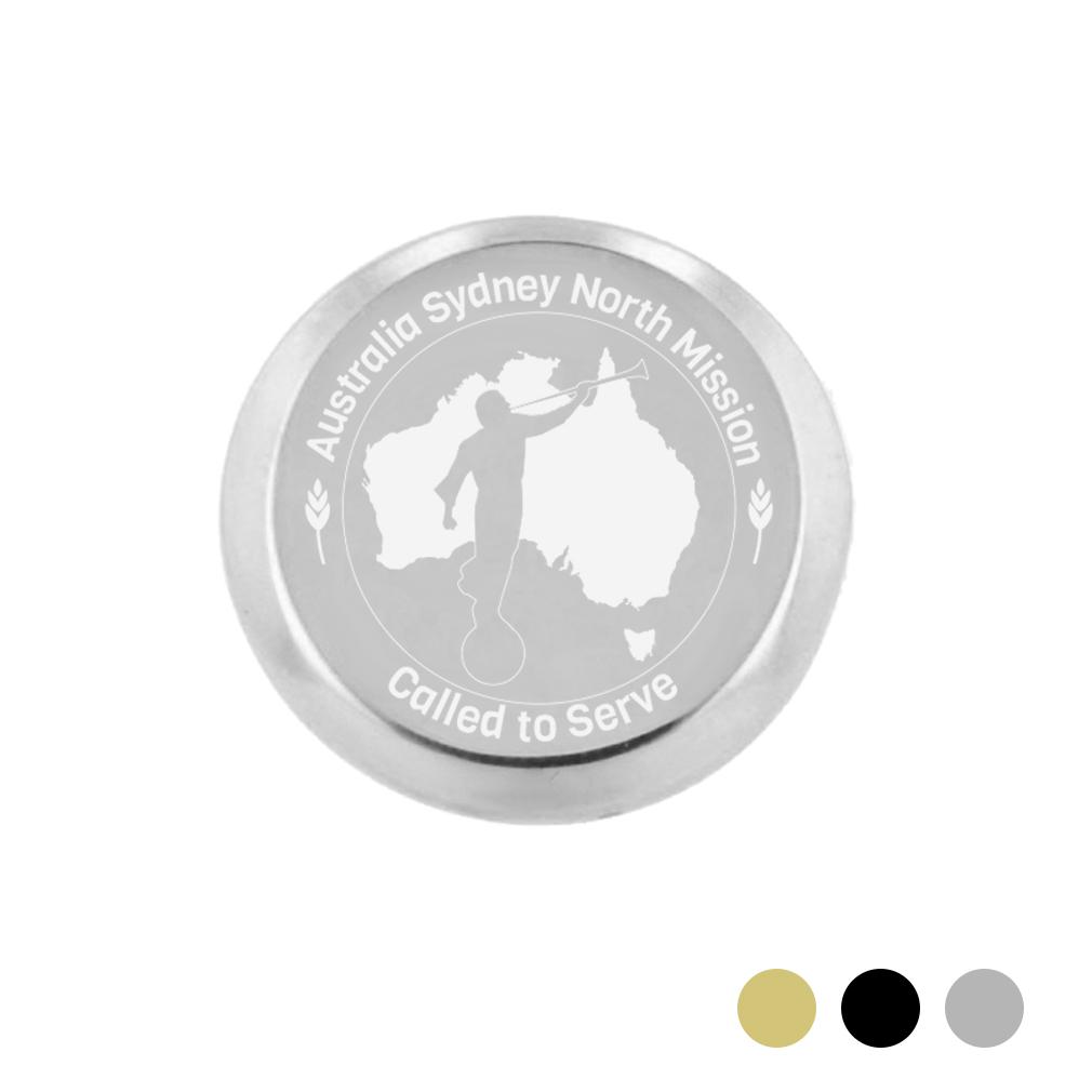 Australia Mission Pin - LDP-TPN0510