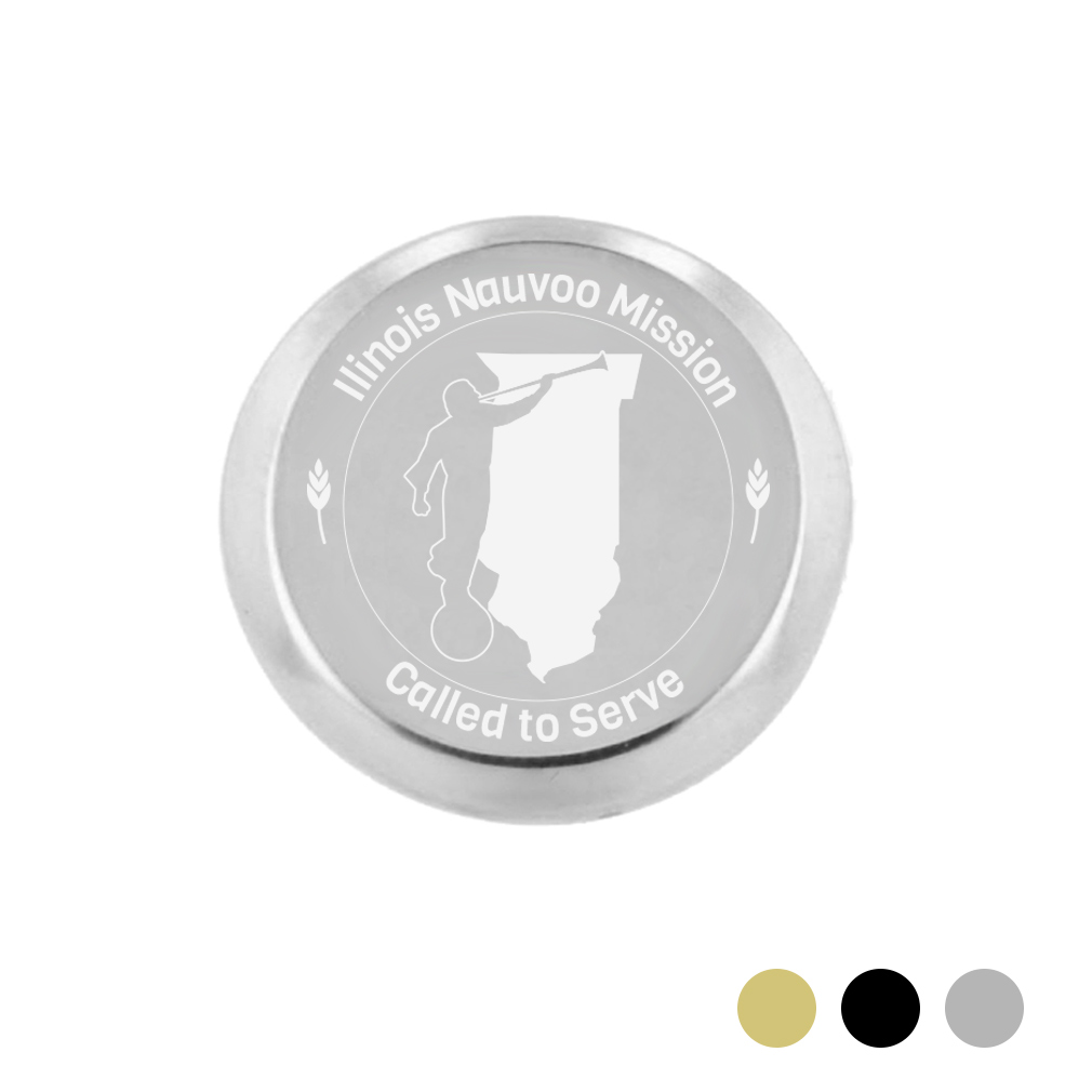 Illinois Mission Pin - LDP-TPN0552