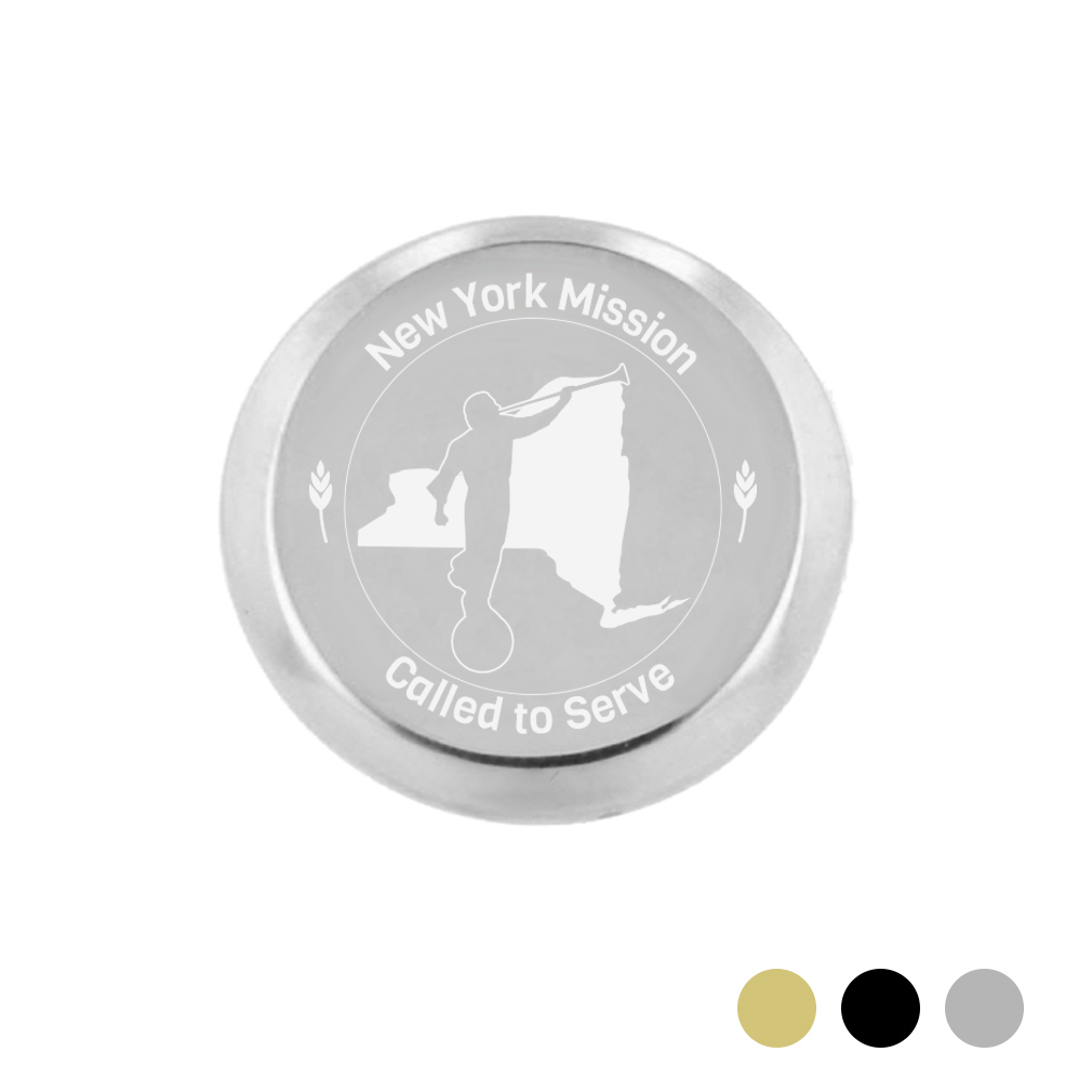 New York Mission Pin - LDP-TPN0571