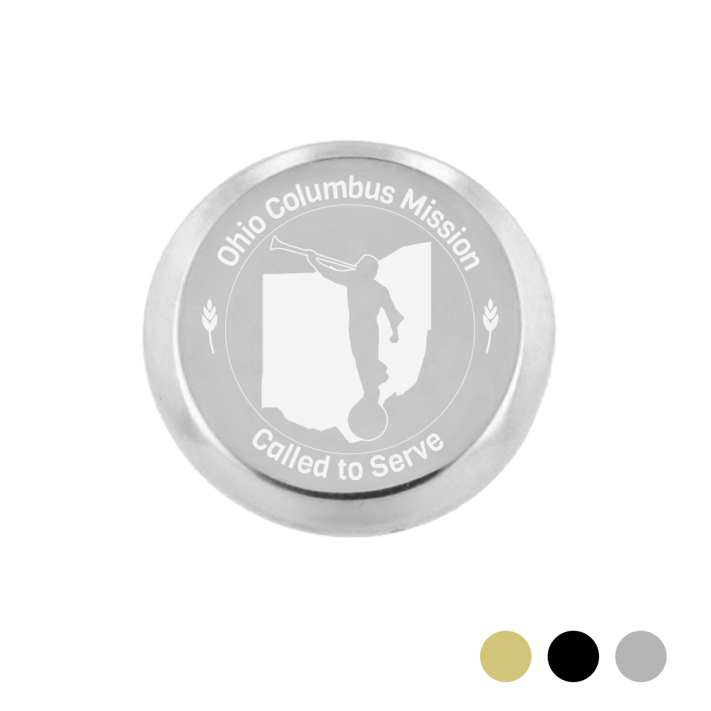 Ohio Mission Pin - Silver - LDP-TPN0574