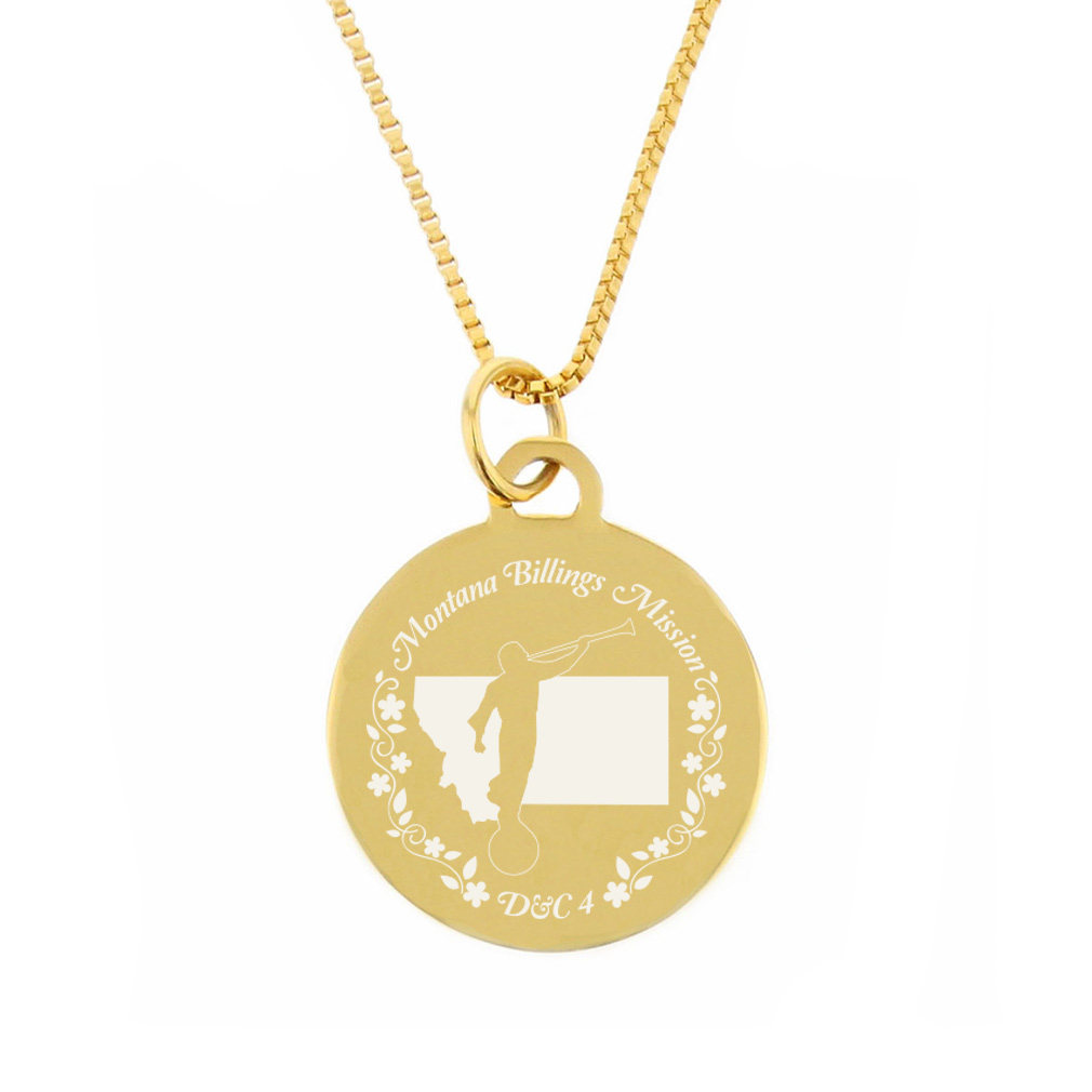 Montana Mission Necklace - Silver/Gold - LDP-CPN65