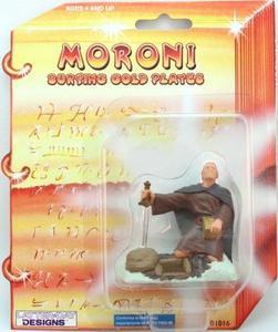 "Moroni Burying the Plates Figurine - 3"" - LDD-01016"